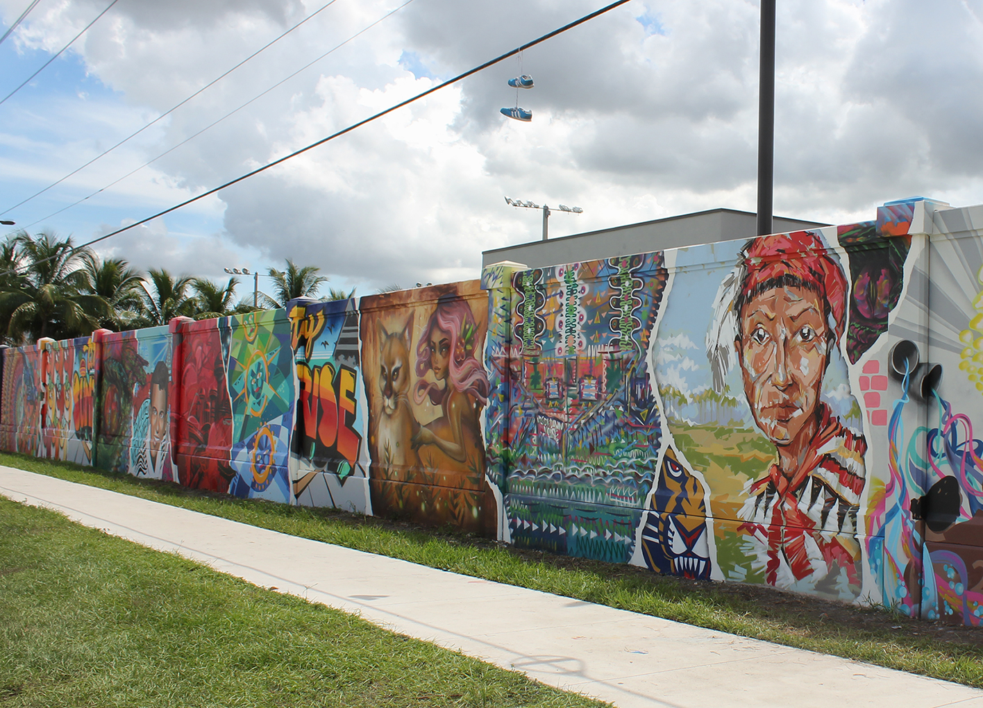 broward 100 mural project city of sunrise cushy gigs